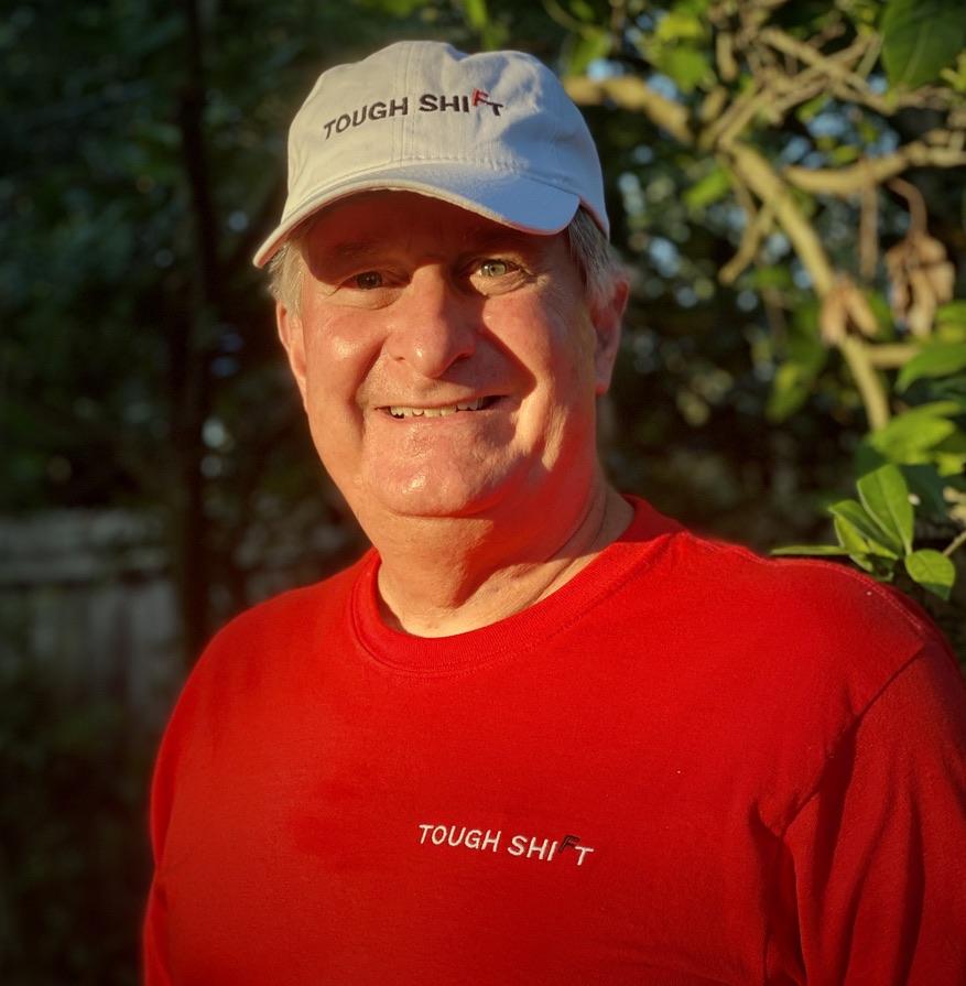Photo of Kevin McCarthy wearing Tough Shift gear
